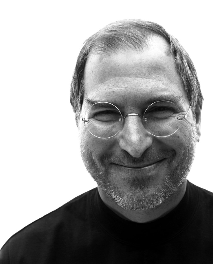 Steve Jobs | by Christian Witkin , I Met Steve the genius . He watched me process a sale on a very old, slow PC.. embarrassing. He was very polite,they were launching the 1st iPhone that day.True story. E Peel