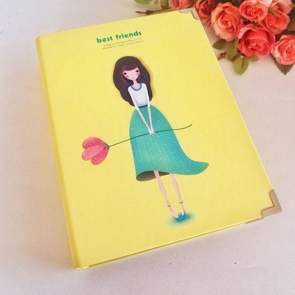 Sevimli Kız Sarı Kendin Yarat Fotoğraf Albümü