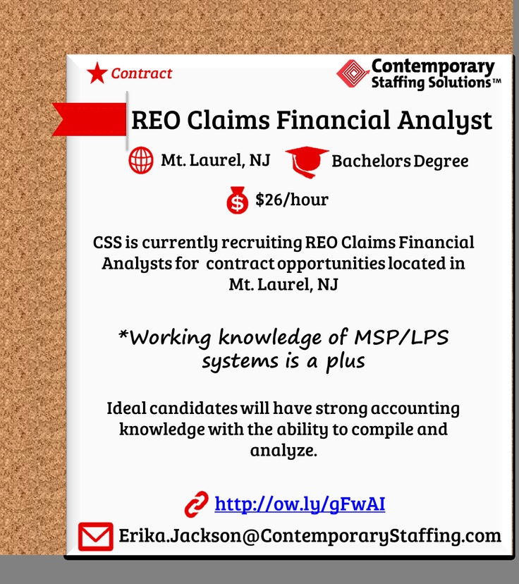 163 best CSS Job Openings! images on Pinterest Fun stuff, The - reo specialist sample resume