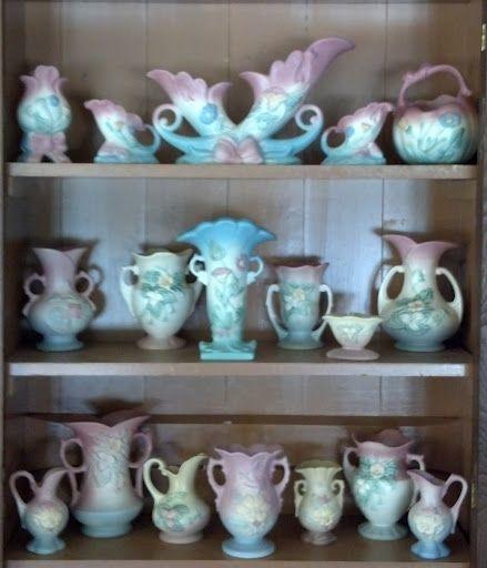 Nice Display of Hull Pottery