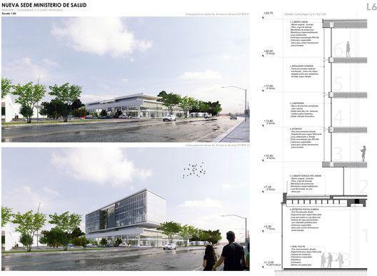 1.61 Arquitectos + Jorge Taberna - Ministerio de Salud GCABA - Buenos Aires, Argentina