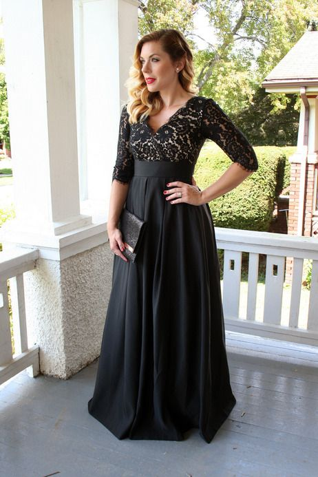 #lace #blackdress #formal #gown #specialoccasion