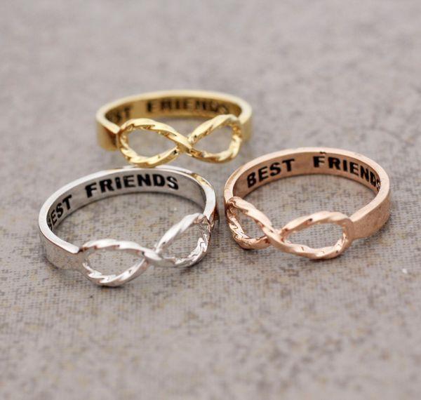 Best Friend Infinity ring - cuuuute
