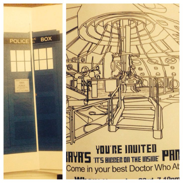 206 best fandom party images – Doctor Who Party Invitations