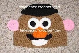 crochet disney hats - Google Search