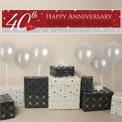 40th Anniversary Party Supplies Decorations Favors