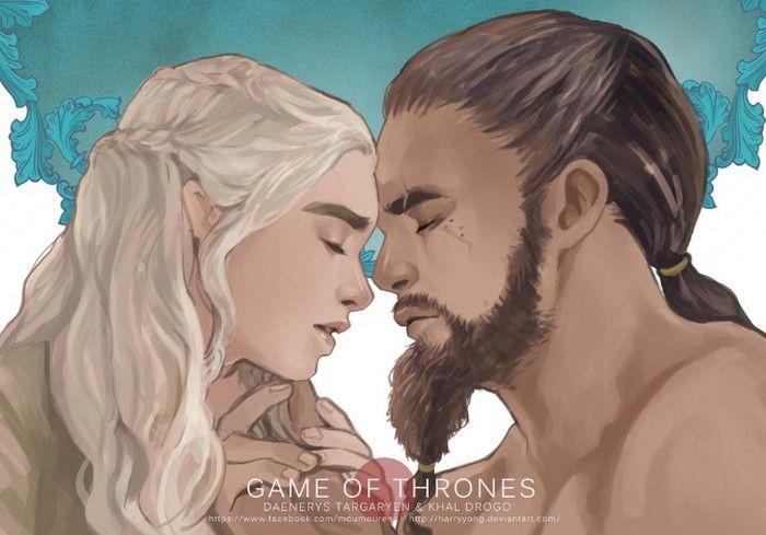 Les couples de Game of Thrones : Daenerys et Khal Drogo, amour animal