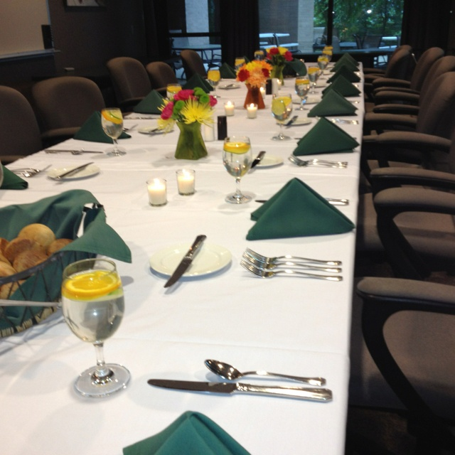 planning a business luncheon