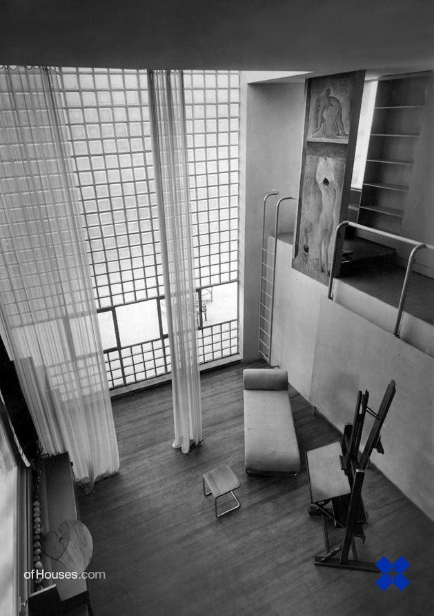 Giuseppe Terragni /// Casa sul lago per un artista /// Milan, Italy /// 1933
