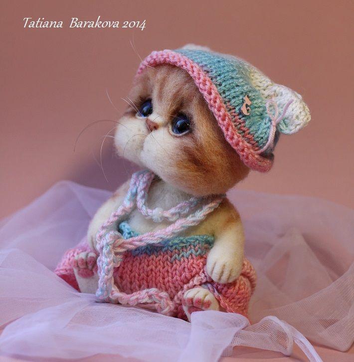 Precious kitten from Tatiana Barakova