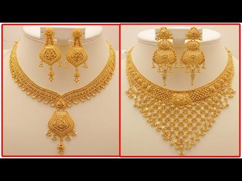 fcf22b8af1 Gold Chain Designs For Ladies In 10 gram - YouTube | necklace in ...