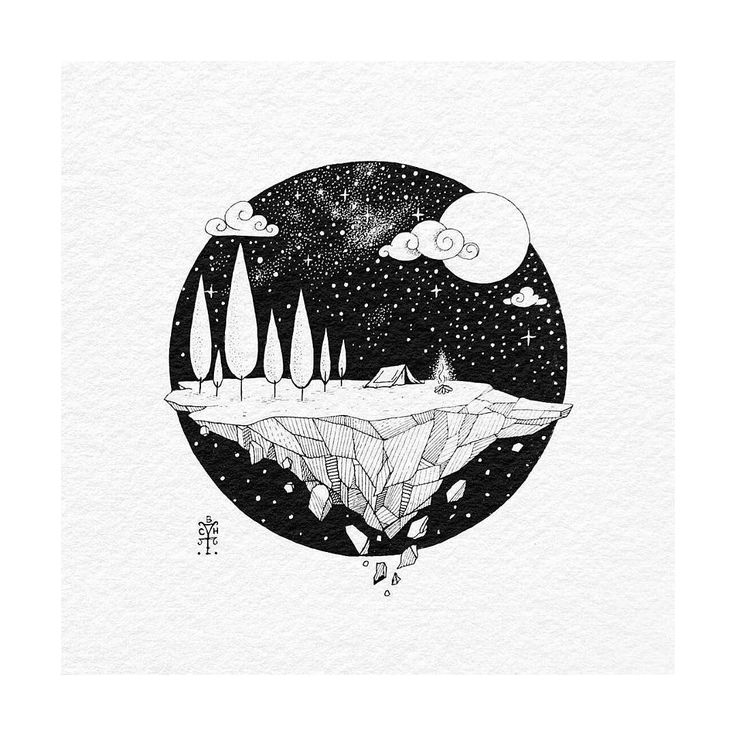 Best 25+ Black and white illustration ideas on Pinterest   Tattoo ...