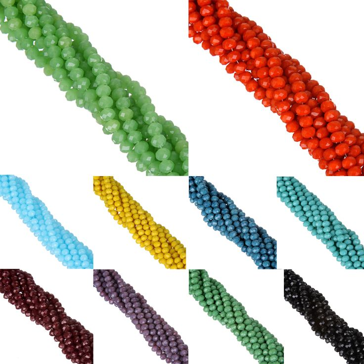 新しい! aa +品質6ミリメートル100ピース/ロットキャンディーカラーラウンドファセットガラス文字列ビーズクリスタルrondelles白/黒/赤/緑/yello