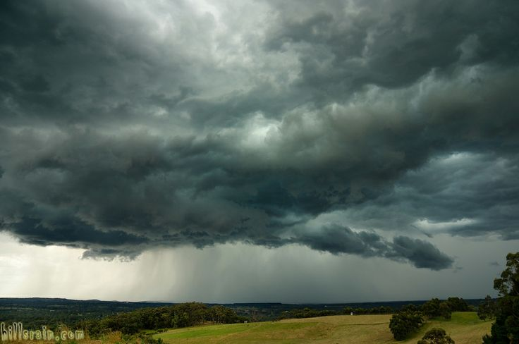 A summer storm over the Fleurieu by hillsrain.com