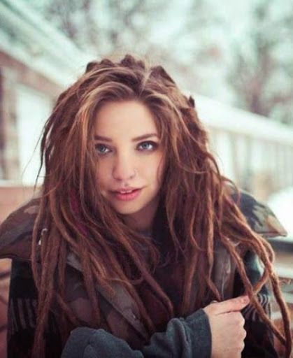 dreadlock styles women - Google Search