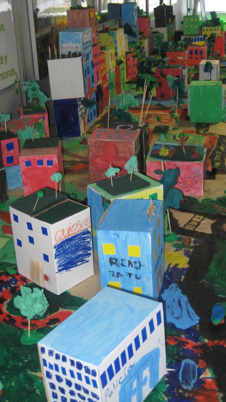 Talleres para niños sobre Arquitectura, Urbanismo y diseño de ciudad en Valdebebas, con Chiquitectos