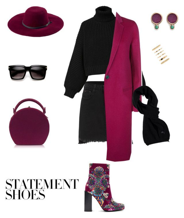 """""""#PolyPresents: Statement Shoes"""" by sebolita ❤ liked on Polyvore featuring Diesel, Jeffrey Campbell, Bertoni, Astley Clarke, Forever 21, San Diego Hat Co. and Theory"""