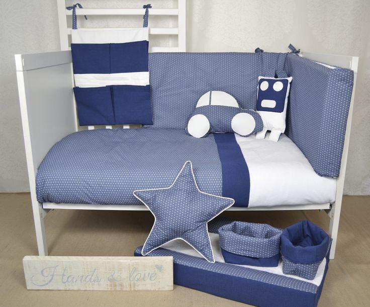 Baby bedding dream blue