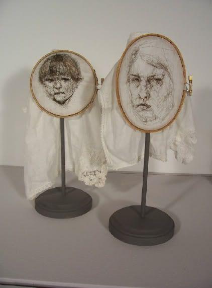 Interesting embroidery art @Rebecca