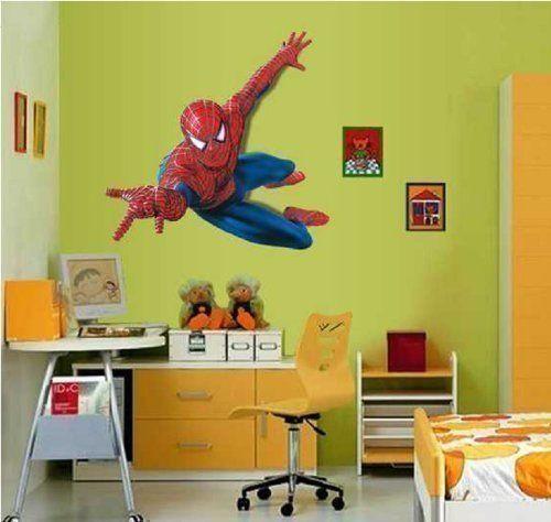 Adesivo Decalcomania Decorazione Parete Camera Bambini Grande Spiderman - 1, grande Spiderman http://www.amazon.it/dp/B00E3GN662/ref=cm_sw_r_pi_dp_3Aczvb1D4BZFS