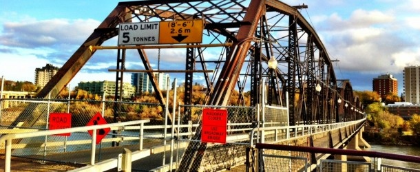 """Even in near death it was the best bridge in Saskatoon."""