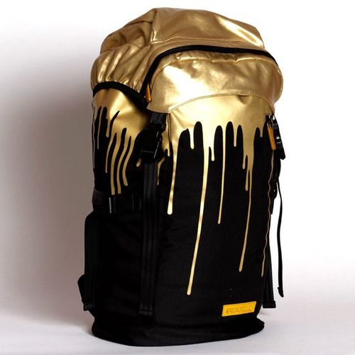 Gold-Dripping Book Bags  fd777e1829790