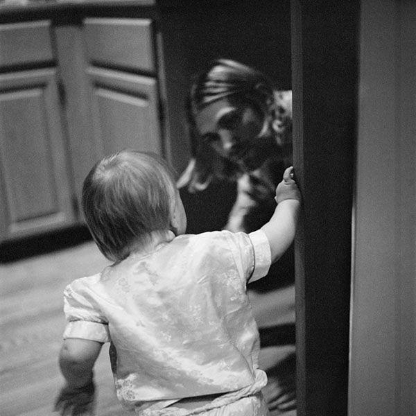 Kurt Cobain: 10 Rare & Unseen Photos by Charles Peterson | Billboard - Kurt's daughter Frances Bean's first birthday party, 1993