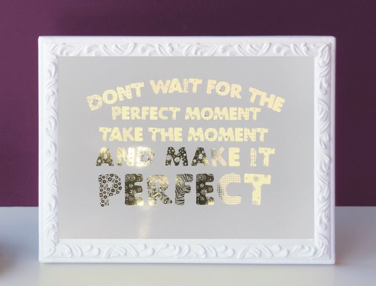 Gold Foil Print, Inspirational Quote Print, Typography Print, Motivational Quote Print, Modern home decor, Foil Wall Art Prints by GlitzyPrints on Etsy