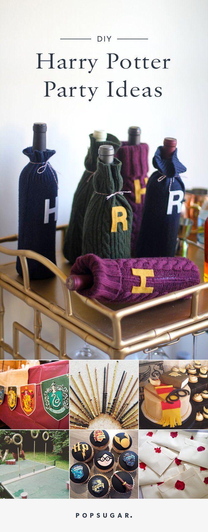 DIY Harry Potter Party Ideas