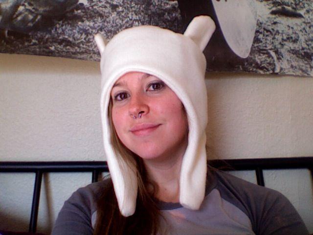 Adventure Time!  Finn's Hat Pattern