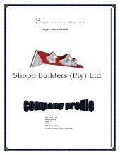 Shopo Construction Profile (3) www.shopobuilders.co.za  0838741459