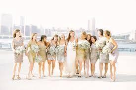 Image result for bridesmaid dresses metallic