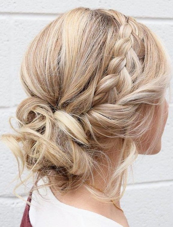 The Best And Most Loved Bridal Hairstyles 2019 Belikeanactress Com Hair Styles Braided Hairstyles For Wedding Medium Length Hair Styles