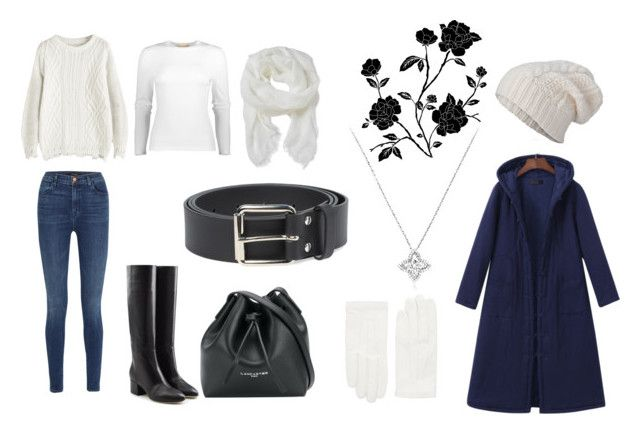 Casual winter outfit by tai-bella on Polyvore featuring Michael Kors, Gracila, J Brand, Sergio Rossi, Lancaster, RED Valentino, STINNE GORELL, Altea and Comme des Garçons