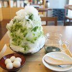 茶茶の間 - 料理写真:抹茶金時(1200円)