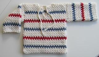 swedish pattern, Pippi tröja för bebisar