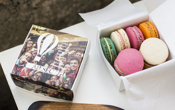 GIFT_Company Kazan #macarons #aiesec