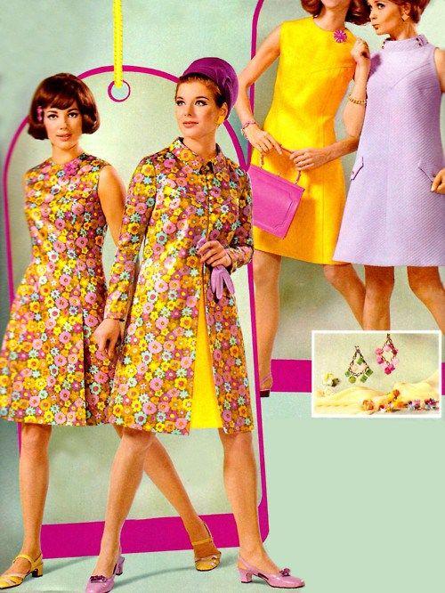 お洒落で可愛い!60's~70'sのレトロファッションがしたいっ♡|MERY [メリー]