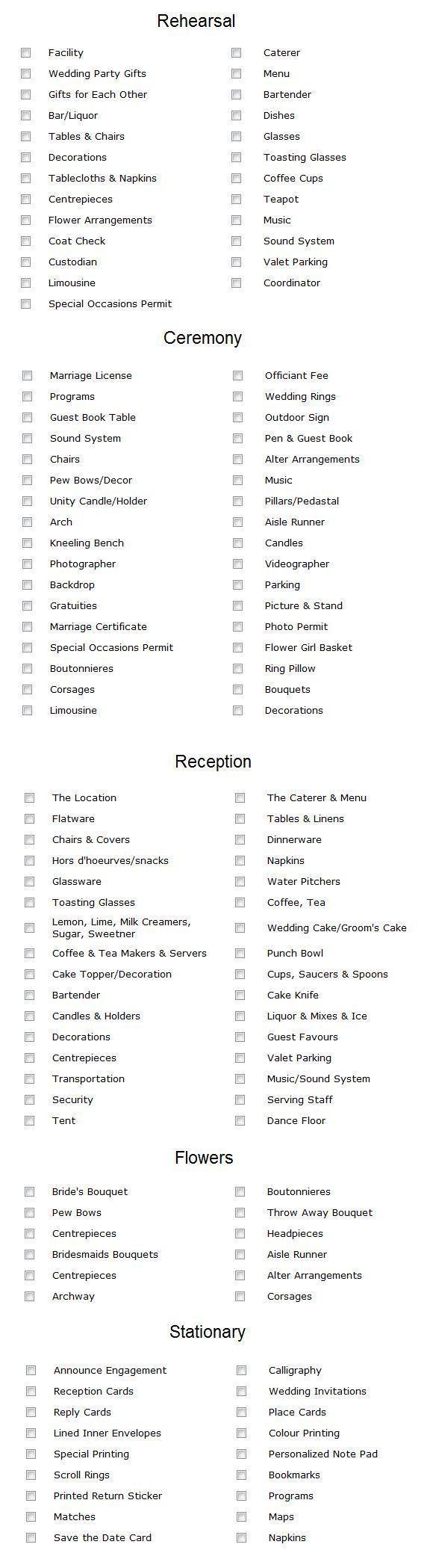 Best 25+ Diy wedding checklist ideas on Pinterest | DIY wedding ...