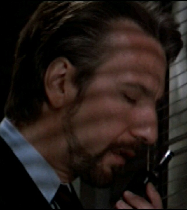 Alan Rickman as Hans Gruber in Die Hard. Oh , that kind of delicious evil...