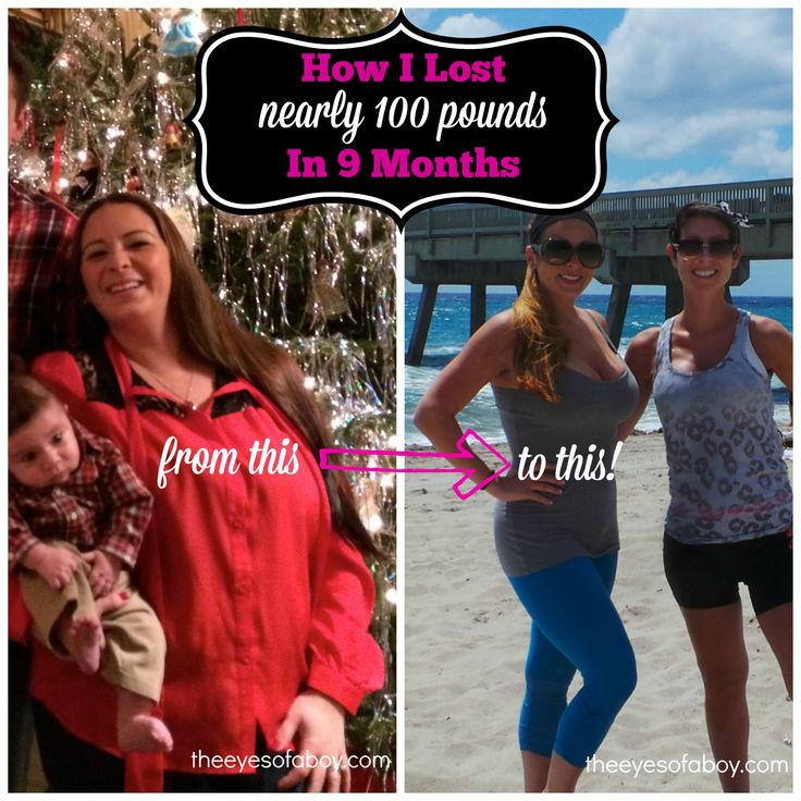 My Extreme Weight Loss Journey - How I lost nearly 100 pounds in 9 months after having 3 babies in under 3 years!