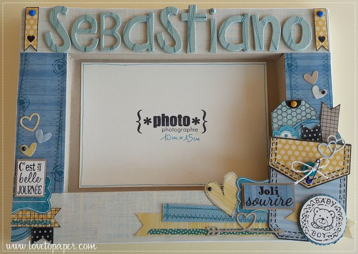 baby boy altered frame