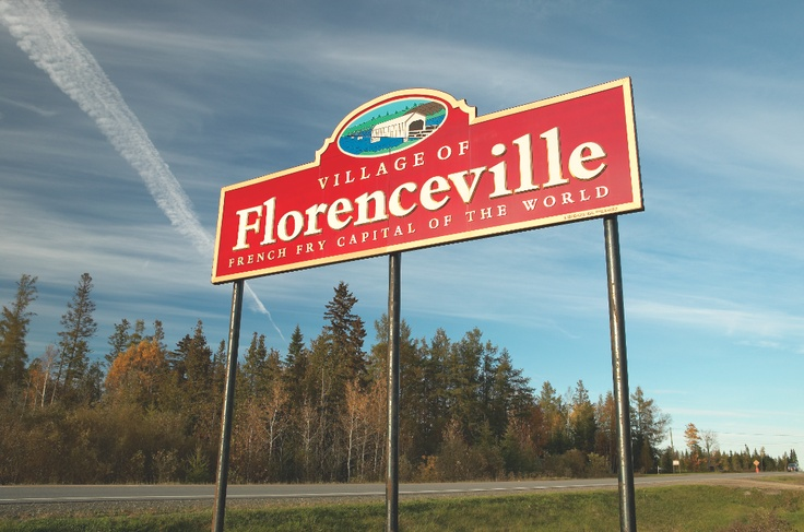 Florenceville: Our hometown and the French Fry capitol of the world!