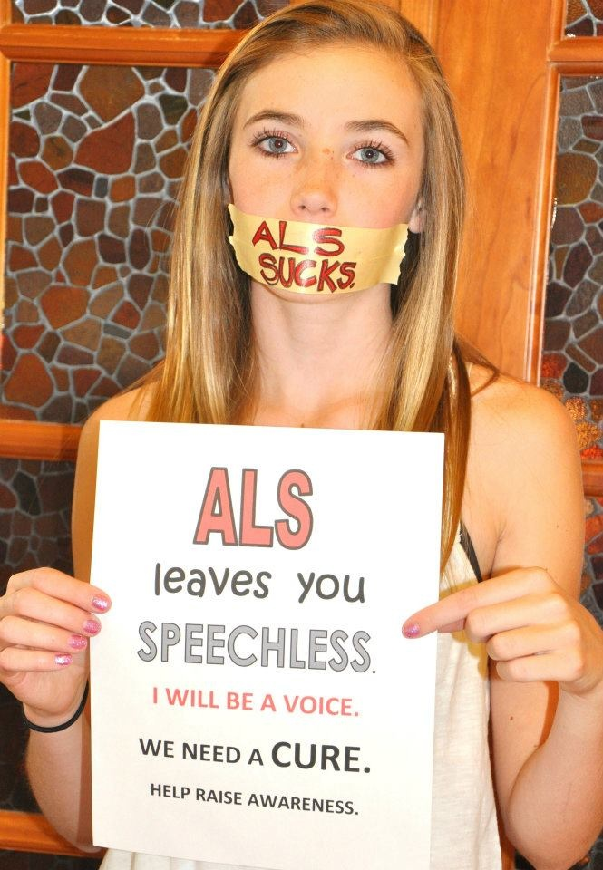 #ALS takes our loved ones voices...so we speak for them. #ALSMonth #ALSADVDAY12