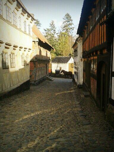 The olde city in Aarhus