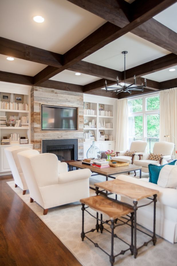 Family Room Renovation – Before and After | Kendall Simmons