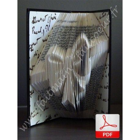 les 76 meilleures images du tableau livre pli sur pinterest livres pliage livre et livre sculpt. Black Bedroom Furniture Sets. Home Design Ideas