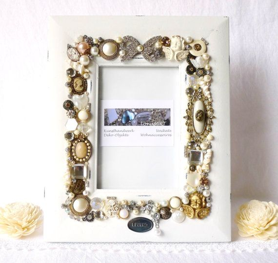 picture frame jewelry vintage inspired jewelry photo by LonasART, €125.00