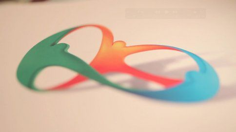 If this isn't brilliant design, we don't know what it. Fabulous job by Tatíl Design on the Rio 2016 logo! #bravo!