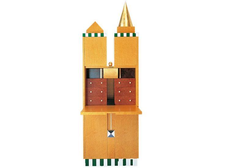 Wooden secretary desk F1 Artifacts Collection by Draenert | design Norbert Berghof, Wolfgang Rang, Michael Landes